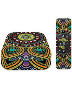 Sacred Wheel Colored Apple TV Skin