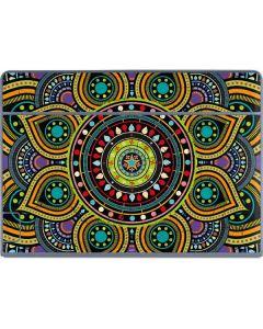 Sacred Wheel Colored Galaxy Book Keyboard Folio 12in Skin