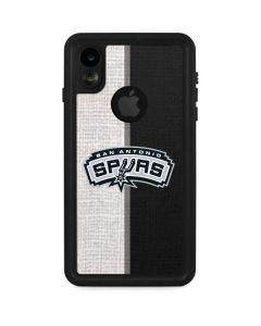 San Antonio Spurs Canvas iPhone XR Waterproof Case