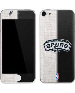 San Antonio Spurs Canvas Apple iPod Skin