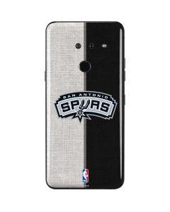 San Antonio Spurs Canvas LG G8 ThinQ Skin