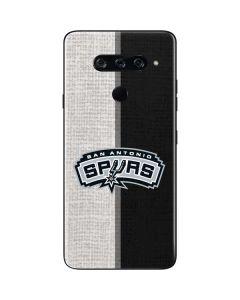San Antonio Spurs Canvas LG V40 ThinQ Skin