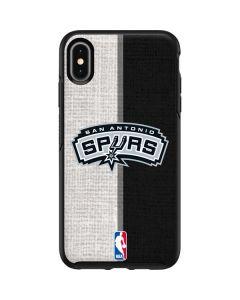 San Antonio Spurs Canvas Otterbox Symmetry iPhone Skin