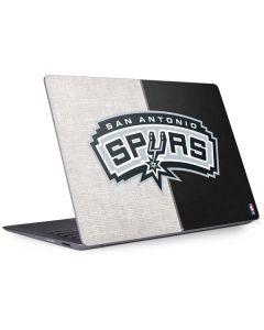 San Antonio Spurs Canvas Surface Laptop 2 Skin