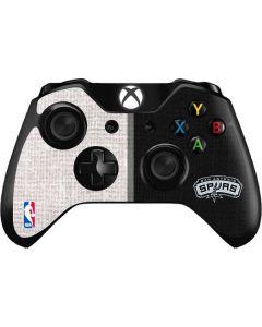San Antonio Spurs Canvas Xbox One Controller Skin