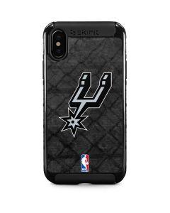 San Antonio Spurs Dark Rust iPhone X Cargo Case