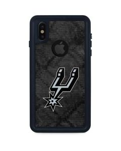 San Antonio Spurs Dark Rust iPhone XS Waterproof Case