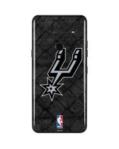 San Antonio Spurs Dark Rust LG G8 ThinQ Skin