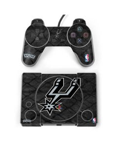 San Antonio Spurs Dark Rust PlayStation Classic Bundle Skin