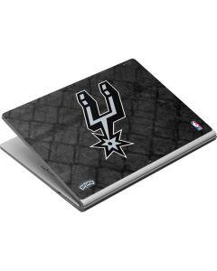 San Antonio Spurs Dark Rust Surface Book Skin
