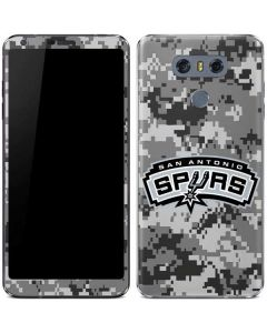 San Antonio Spurs Digi Camo LG G6 Skin