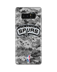 San Antonio Spurs Digi Camo Galaxy Note 8 Skin
