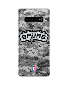 San Antonio Spurs Digi Camo Galaxy S10 Plus Skin