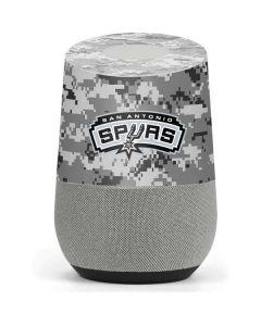 San Antonio Spurs Digi Camo Google Home Skin
