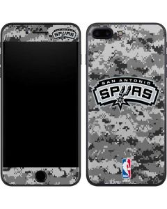 San Antonio Spurs Digi Camo iPhone 8 Plus Skin