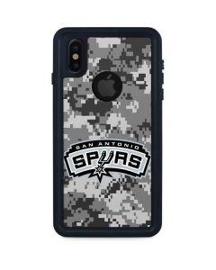 San Antonio Spurs Digi Camo iPhone XS Waterproof Case