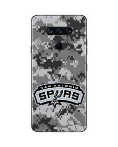 San Antonio Spurs Digi Camo LG V40 ThinQ Skin