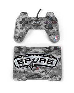 San Antonio Spurs Digi Camo PlayStation Classic Bundle Skin