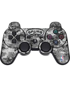 San Antonio Spurs Digi Camo PS3 Dual Shock wireless controller Skin