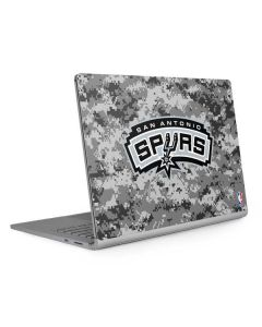 San Antonio Spurs Digi Camo Surface Book 2 13.5in Skin