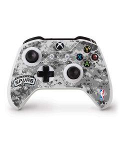 San Antonio Spurs Digi Camo Xbox One S Controller Skin