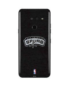 San Antonio Spurs Distressed LG G8 ThinQ Skin