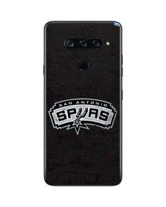San Antonio Spurs Distressed LG V40 ThinQ Skin