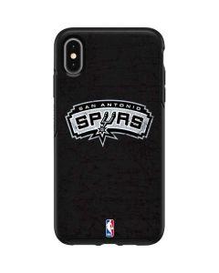 San Antonio Spurs Distressed Otterbox Symmetry iPhone Skin
