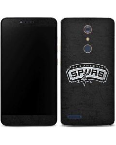 San Antonio Spurs Distressed ZTE ZMAX Pro Skin
