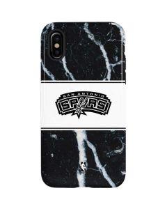 San Antonio Spurs Marble iPhone XS Pro Case