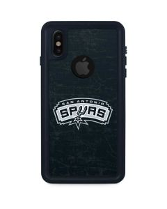 San Antonio Spurs Primary Logo iPhone XS Waterproof Case
