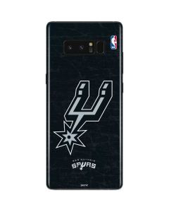 San Antonio Spurs Secondary Logo Galaxy Note 8 Skin