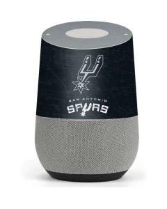 San Antonio Spurs Secondary Logo Google Home Skin
