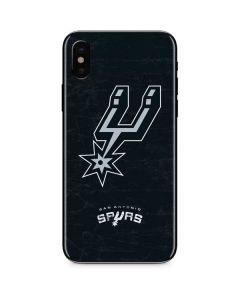 San Antonio Spurs Secondary Logo iPhone X Skin