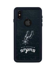 San Antonio Spurs Secondary Logo iPhone XS Waterproof Case