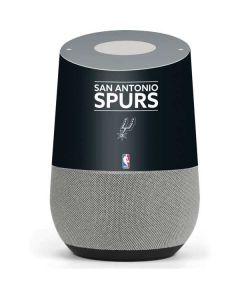 San Antonio Spurs Standard - Black Google Home Skin