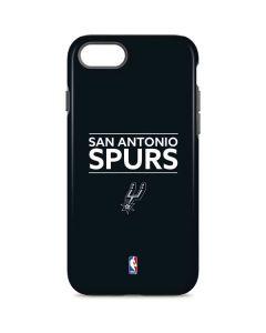 San Antonio Spurs Standard - Black iPhone 8 Pro Case