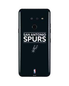 San Antonio Spurs Standard - Black LG G8 ThinQ Skin
