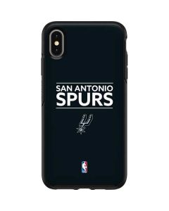San Antonio Spurs Standard - Black Otterbox Symmetry iPhone Skin