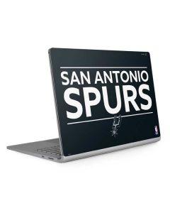 San Antonio Spurs Standard - Black Surface Book 2 13.5in Skin