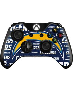 Los Angeles Chargers Blue Blast Xbox One Controller Skin