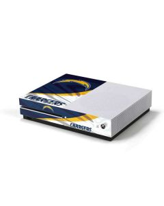 Los Angeles Chargers Xbox One S Console Skin