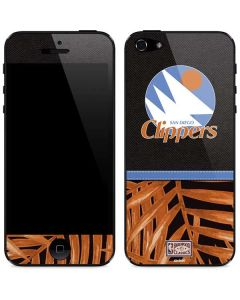 San Diego Clippers Retro Palms iPhone 5/5s/SE Skin