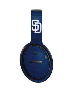 San Diego Padres - Solid Distressed Bose QuietComfort 35 Headphones Skin