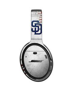 San Diego Padres Game Ball Bose QuietComfort 35 Headphones Skin