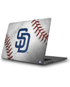 San Diego Padres Game Ball Apple MacBook Pro Skin