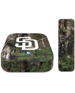 San Diego Padres Realtree Xtra Green Camo Apple TV Skin