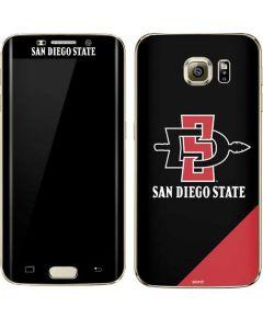 San Diego State Galaxy S7 Edge Skin