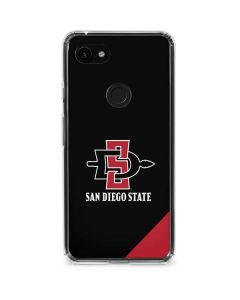 San Diego State Google Pixel 3a Clear Case