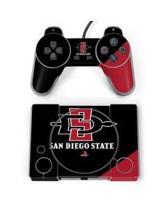 San Diego State PlayStation Classic Bundle Skin